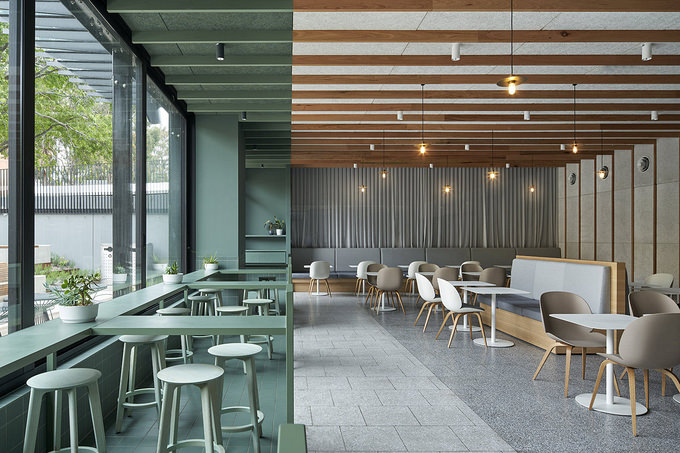 Sable Drop Cafe, Monash University